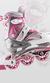 Dla dziewczynek marzących o skatingu: różowe rolki od Nils