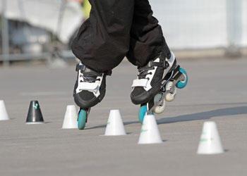 Triki, slalomy, przeszkody